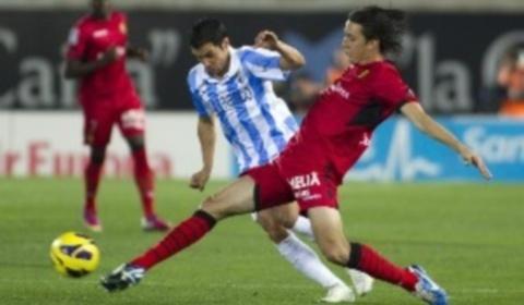 El Real Mallorca fue muy superior en la primera parte, pero en la segunda no ha podido rentabilizar el esfuerzo (Foto: La Liga)