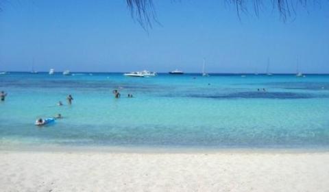 Imagen de la playa de Es Trenc