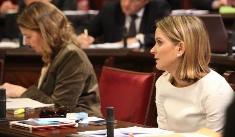 La portavoz del Grupo Parlamentario Popular, Margalida Prohens (Foto: Europa Press)