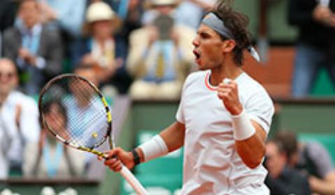 El mallorquín con su duodécimo Roland Garros