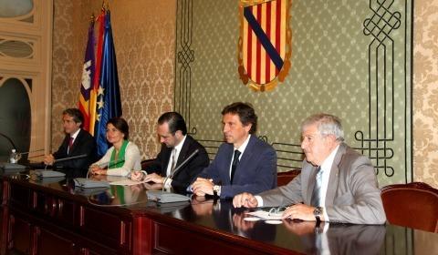 Foto de familia de la Federación de Entidades Locales de Baleares (Felib)