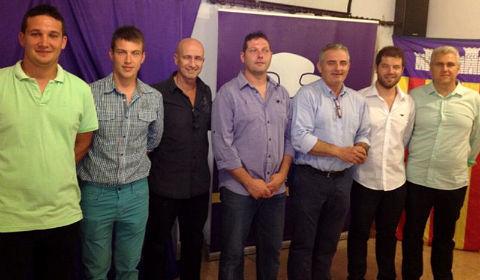 Biel Mas ha estado acompañado en su presentación por los líderes del partido (Foto: El Pì)