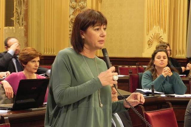 La presidenta del Govern balear, Francina Armengol (Foto: Govern)