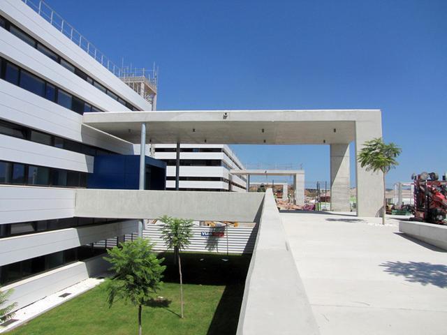 Exterior del Hospital de Can Misses (Foto: Archivo)