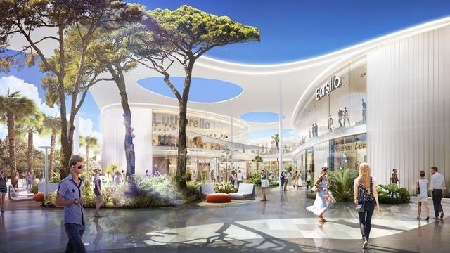 La obra de joan mir inspira la arquitectura del centro for Construccion de modulos comerciales