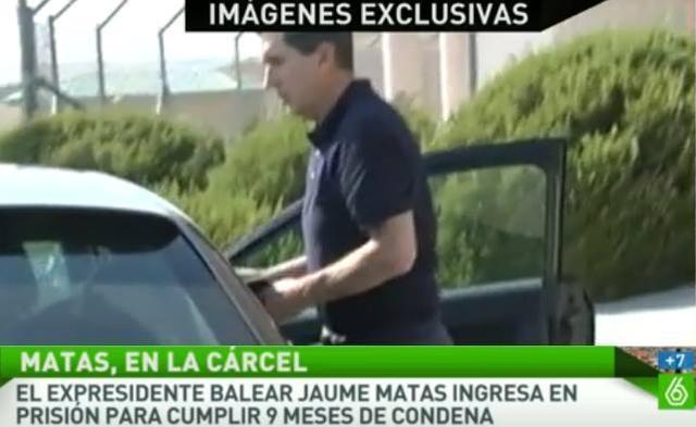 El expresidente del Govern, Jaume Matas (Foto: EP)