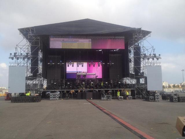 """En Palma, Guetta dejó """"plantados"""" a 8.000 fans en agosto de 2014 (Foto: archivo)"""