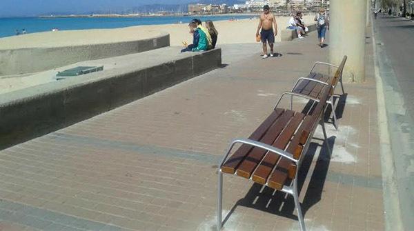 bancos playa palma