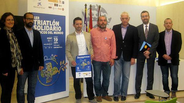 Can Pastilla acogerá el próximo día 19 el Primer Triatlón Solidario Médicos del Mundo