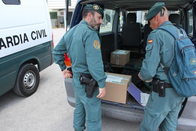 El detenido es un hombre de 60 años de edad (Foto: Guardia Civil)