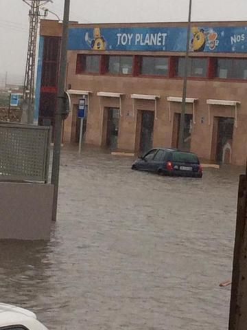 Otra jornada de lluvia (Foto: Archivo)