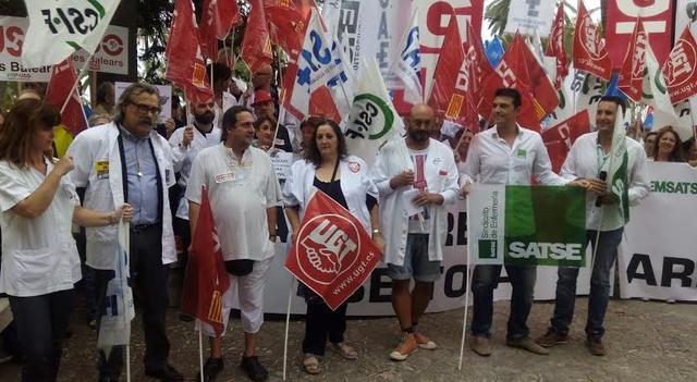sindicatos medicos protesta consolat
