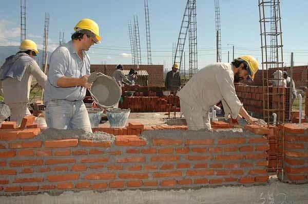 El sector de la construcción de los más castigados (Foto: Archivo)