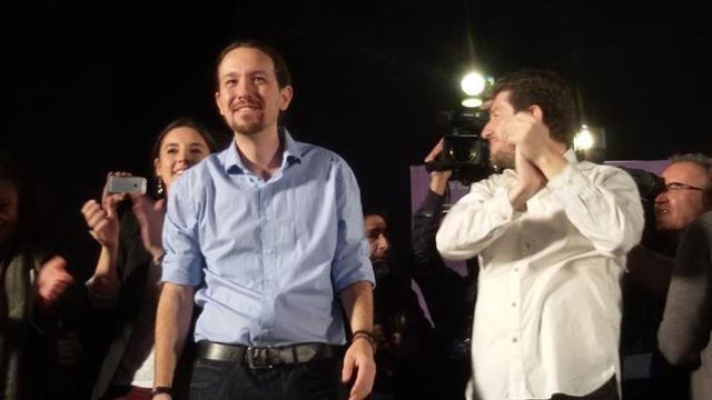 Pablo Iglesias en Palma. Foto: Europa Press.