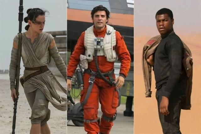 Star Wars. El despertar de la fuerza 2015. Foto: LucasFilm.