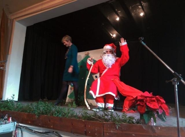 Fiesta de Navidad de la escuela finlandesa de Mallorca 2015