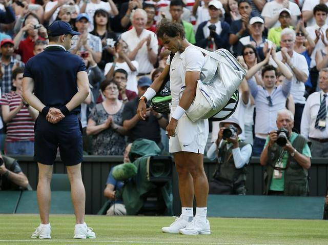 Rafa Nadal. Foto: Reuters.