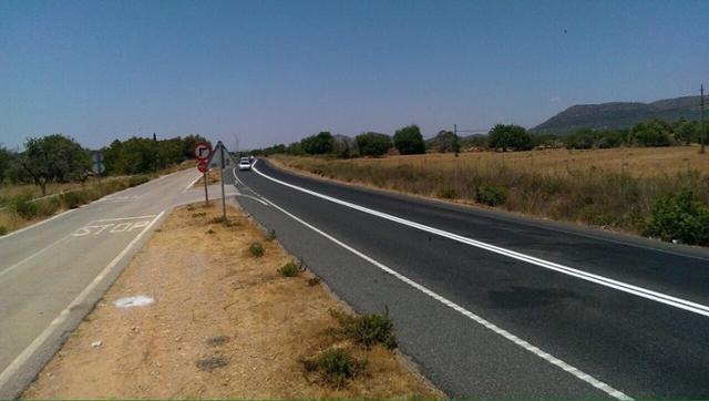 La carretera Campos-Llucmajor (Foto: Archivo)