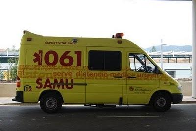 Ambulancia del SAMU 061 (Foto: Archivo)