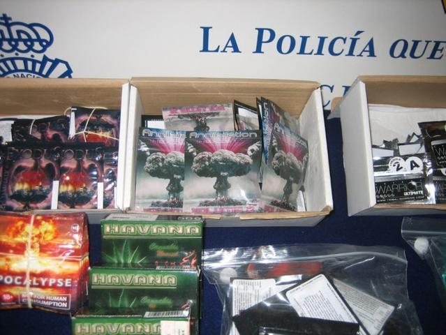 La Policía Nacional ha detenido a 19 personas por varios delitos contra la salud pública y pertenencia a grupo criminal (Foto: Policía Nacional)