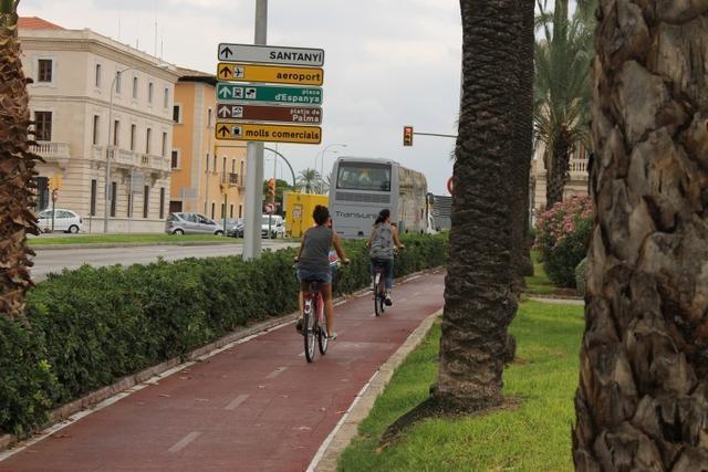 carril bici antoni maura palma