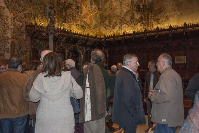 Tomeu Català y el obispo de Mallorca
