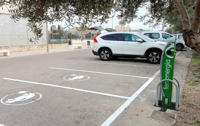 Recarga eléctrica vehículos