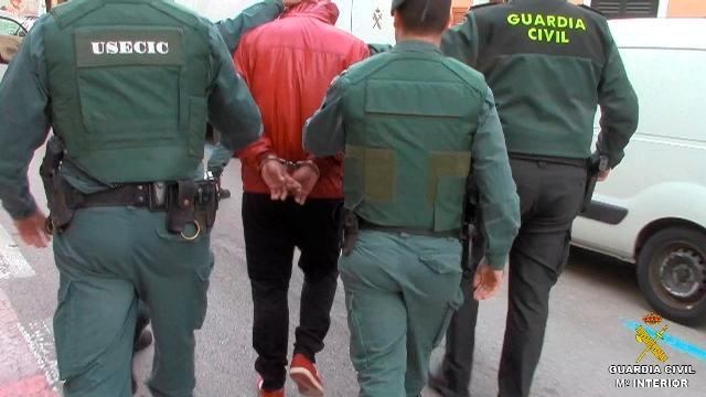 Detenidos de la Operación Posidonia