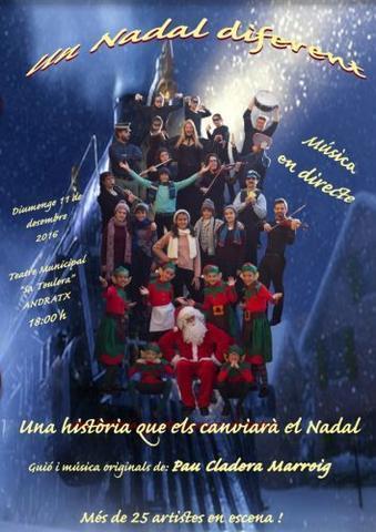 Cartel del musical de Andratx
