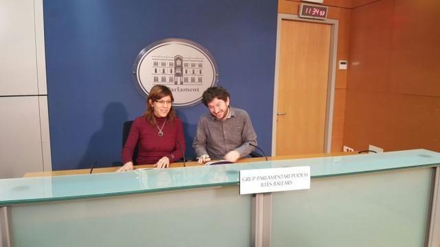 Camargo y Jarabo hoy en rueda de prensa