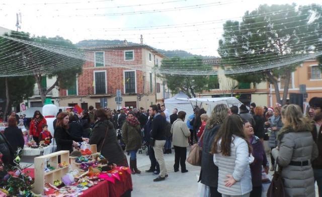 El mercadillo de Nadal es una cita obligada en Andratx donde poder socializar y disfrutar (Foto: Ayto Andratx)