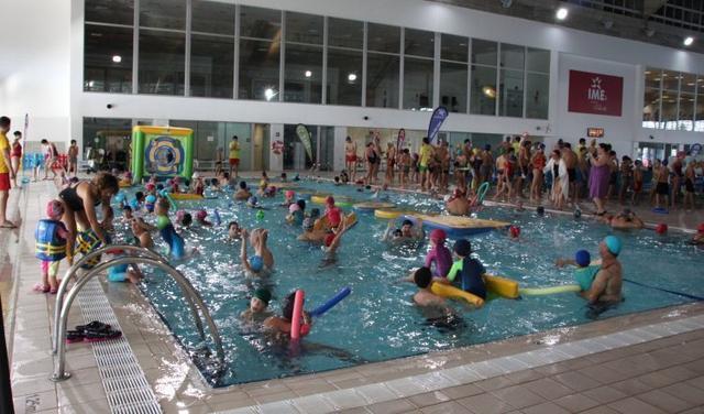 080117 fiesta acuática Son Moix- natación