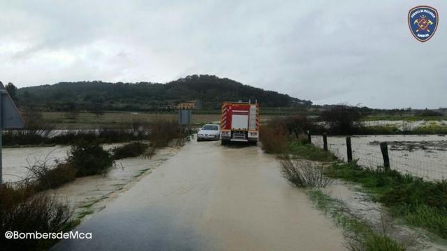 El fuego ha quemado más de 50 hectáreas en Cala Tuent (Foto: Twitter Miquel Mir)
