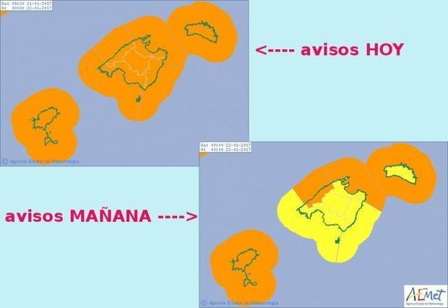 mapa temporal aemet
