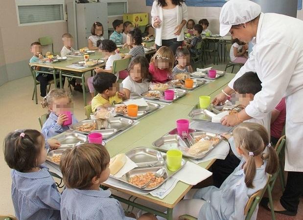Los comedores escolares se adaptan a los productos de for Empresas comedores escolares