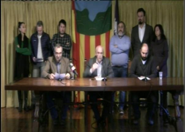 Imagen del equipo de Gobierno de Valldemoss
