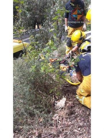 050517 rescate mujer autopista palma-andratx
