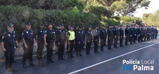 260517 homenaje policia local de palma 2