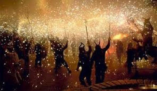 El esperado Correfoc tendrá lugar esta noche (Foto: Ayunt. Andratx)