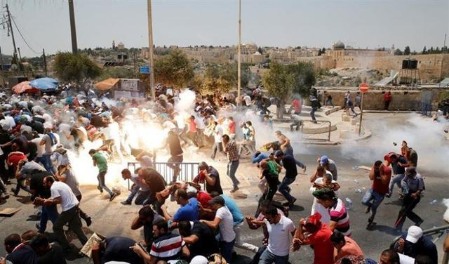 210717 disturbios explanada de las mezquitas