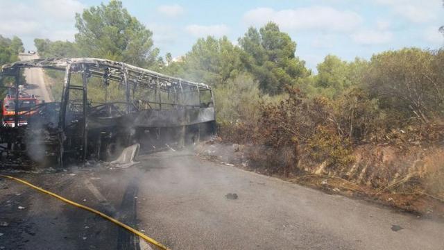 250817 incendio bus cala murada incendiosf.Baleares