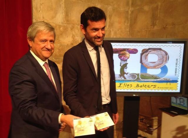 140917 Presentacion Sello Illes Balears