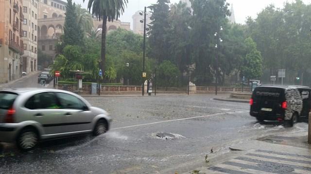 Otro viernes en riesgo por lluvias y tormentas (Foto: Archivo)