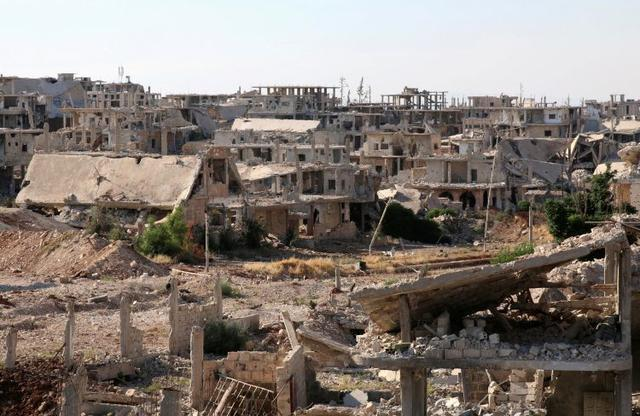 Panorámica de Deraa, Siria. REUTERS
