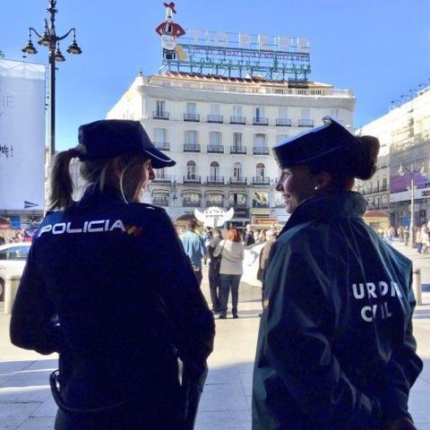 mujeres policia local y guardia civil