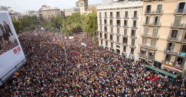 031017 manifestacion calle balmes referendum