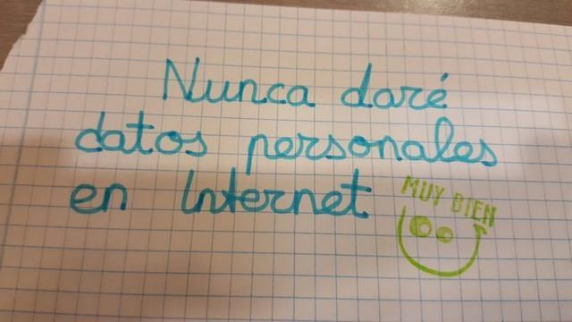 nunca dare datos personales en internet