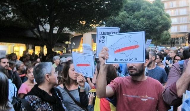 171017 manifestacion palm pro 'libertat jordis'