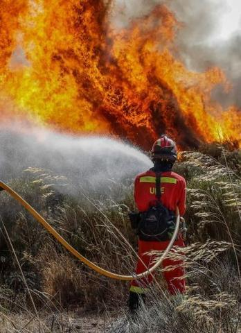 bomberos incendio emergencias