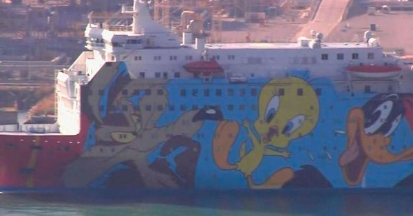 171117 crucero piolin amenazas guardia civil catalunya
